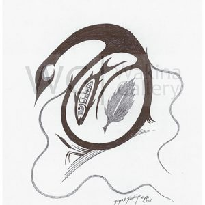 Black and White Series 1 by Roger Noskiye ink  8.5″x 11″