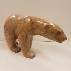Large Walking Polar Bear by Anthony Antoine