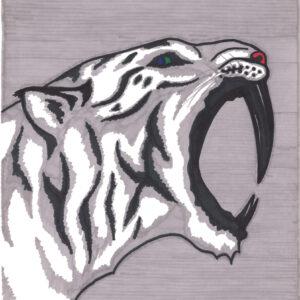"""Prehistoric"" original illustration by Christopher Chambaud felt-tip on paperboard  8.5″x 11″"