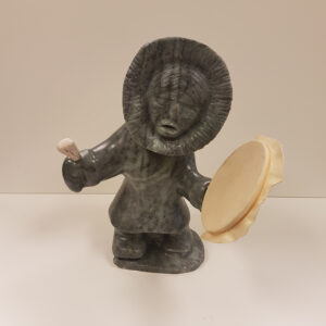 Arctic Song – Original Soapstone Carving by Anthony Antoine