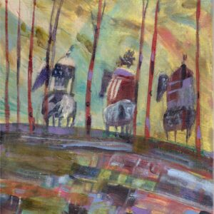 Heading Home – Original Painting by Linus Woods – SOLD