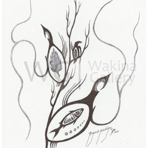 Black and White Series 2 by Roger Noskiye ink  8.5″x 11″