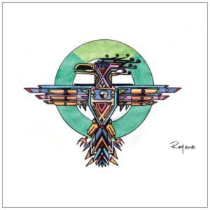 Thunderbird Greeting Card – Bill Roy