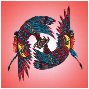 Red Eagles Greeting Card – Bill Roy